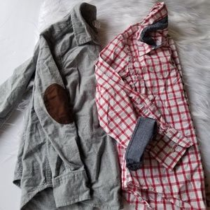 Crewcuts boys button up 6/7 & 8
